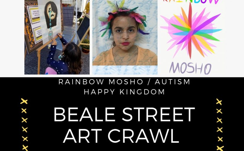 Rainbow Mosho joins Beale Street Art Crawl Summer Series!